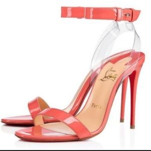 Christian Louboutin Jonatina Coral Pink Heels